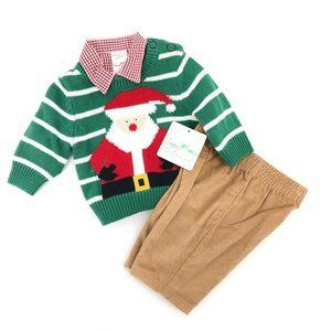 Starting Out Boys Christmas Santa Clause 3pc Set